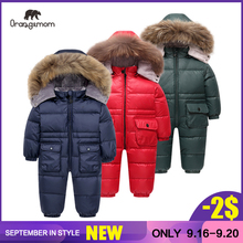 Overalls for boys Orangemom jacket children from 1 to 4 years winter