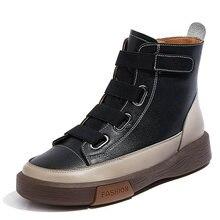 Ботинки женские бархатные высокие ботинки с боковой молнией