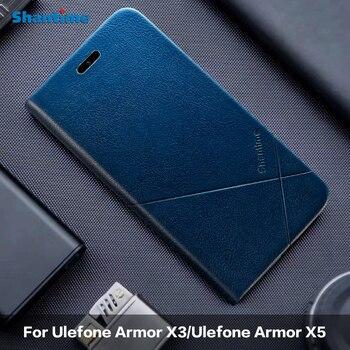 Перейти на Алиэкспресс и купить Для Ulefone Armor X3 кожаный чехол для Ulefone Armor X5 чехол для Ulefone Armor 6 Armor 6E 6S Чехол для Ulefone Armor 7 чехол для телефона