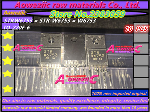 Image 1 - Aoweziic 100% neue importiert original STRW6753 STR W6753 W6753 GP18S50G MR4011 SIHF30N60E E3 SIHF30N60E F30N60E TO 220F transistor