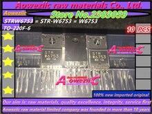 Aoweziic 100% nieuwe geïmporteerde originele STRW6753 STR W6753 W6753 GP18S50G MR4011 SIHF30N60E E3 SIHF30N60E F30N60E TO 220F transistor