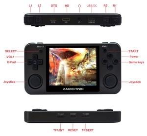 """Image 5 - Hanhibr RG350m linux os レトロゲームコンソールアルミ合金シェル 3.5 """"フルラミネーション ips スクリーン PS1 エミュレータ RG350 ゲームプレーヤー"""