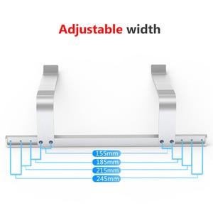 Image 4 - Adjustable Aluminum Laptop Stand Portable Notebook Support Holder For Macbook Pro Computer Riser Stand Cooling Bracket