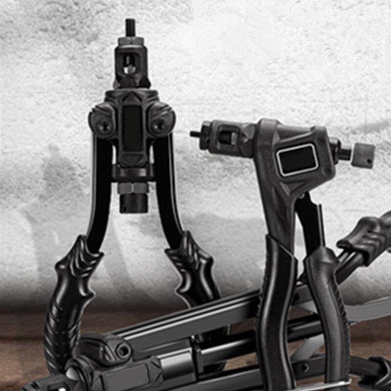 Nut Gun Rivet Cap Nail Gun Tool Pressure Riveting Ram M3-M6-M12 Manual Industrial Grade Riveting Gun