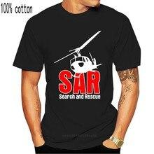 2019 moda marka arama ve kurtarma Sar Luftwaffe Rettungsflieger Hubschrauber Bw #15055 Camisa lacivert T Shirt