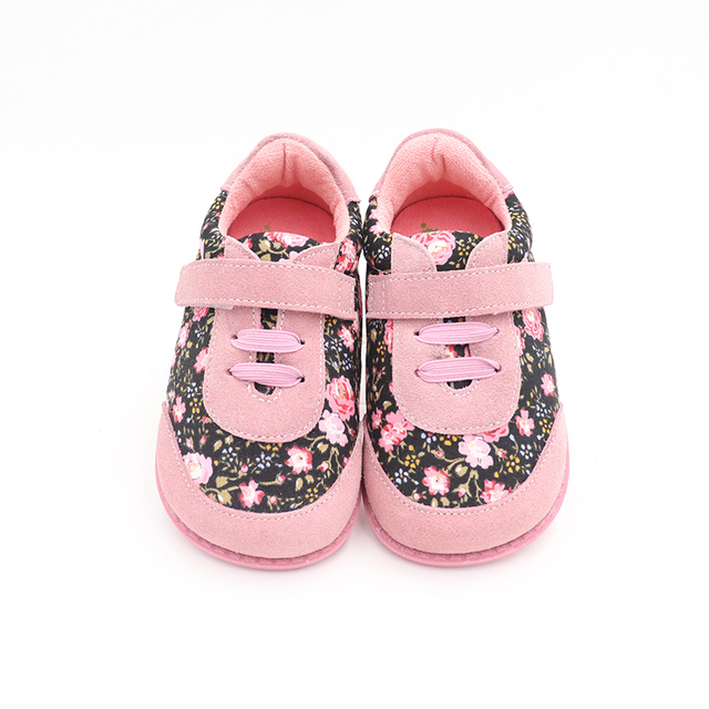 TipsieToes Brand High Quality Fashion Fabric Stitching Kids Children Shoes For Boys And Girls 2020 Spring Barefoot Sneakers