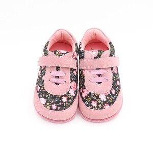 Image 1 - Детские кроссовки TipsieToes, модные тканевые сшитые кроссовки для мальчиков и девочек, весна 2020
