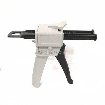 Two Component AB Epoxy Sealant 50ml Glue Gun Applicator Glue Adhensive Squeeze Mixed 1:1 2:1 Manual Caulking Gun Dispenser