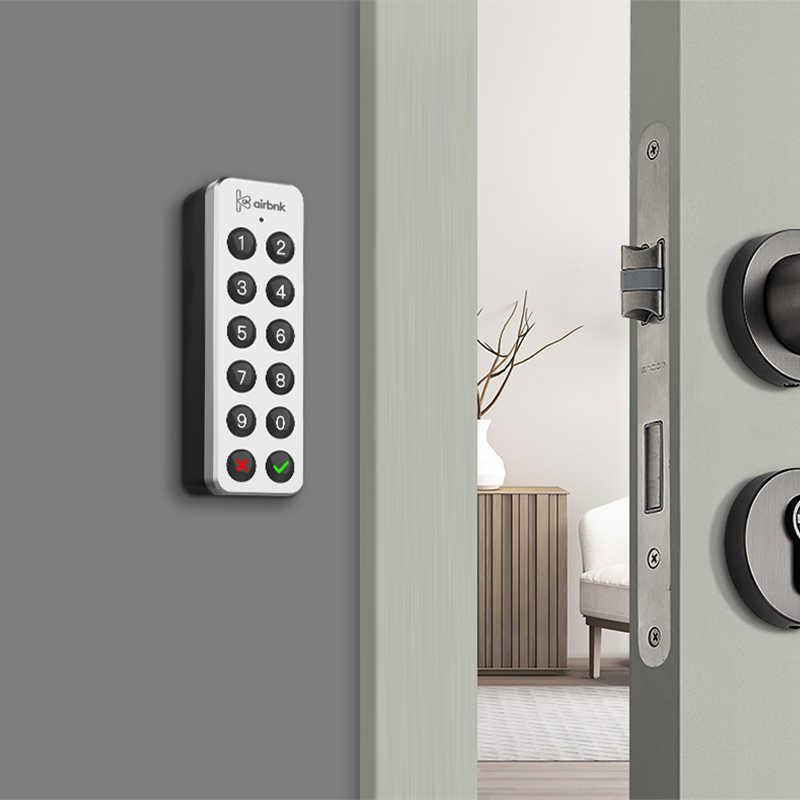Airbnk F101 Passwork Miếng Lót Mật Khẩu Nhận Dạng Thiết Bị Truy Cập Cửa Hệ Thống Điều Khiển Cho M500 M300 Móc Khóa Thông Minh
