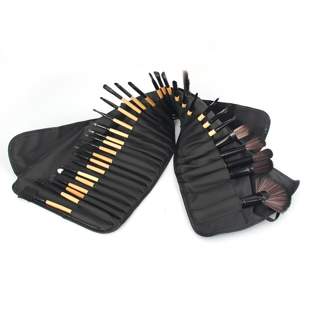 Vander Professional 32Pcs/Set Makeup Brush Foundation Eye Shadows Lipsticks Powder Make Up Brushes Tool Bag Pincel Maquiagem Kit 4