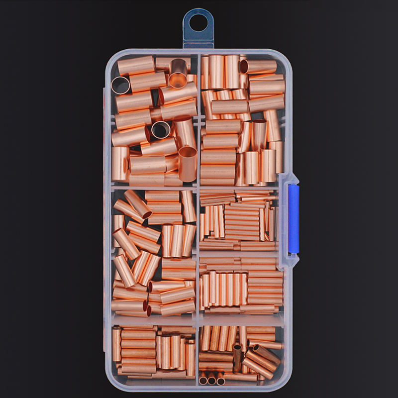 50Pcs E7508 TG-JT Head Red Tube Pre-Insulating Joints To Connect Single Wire