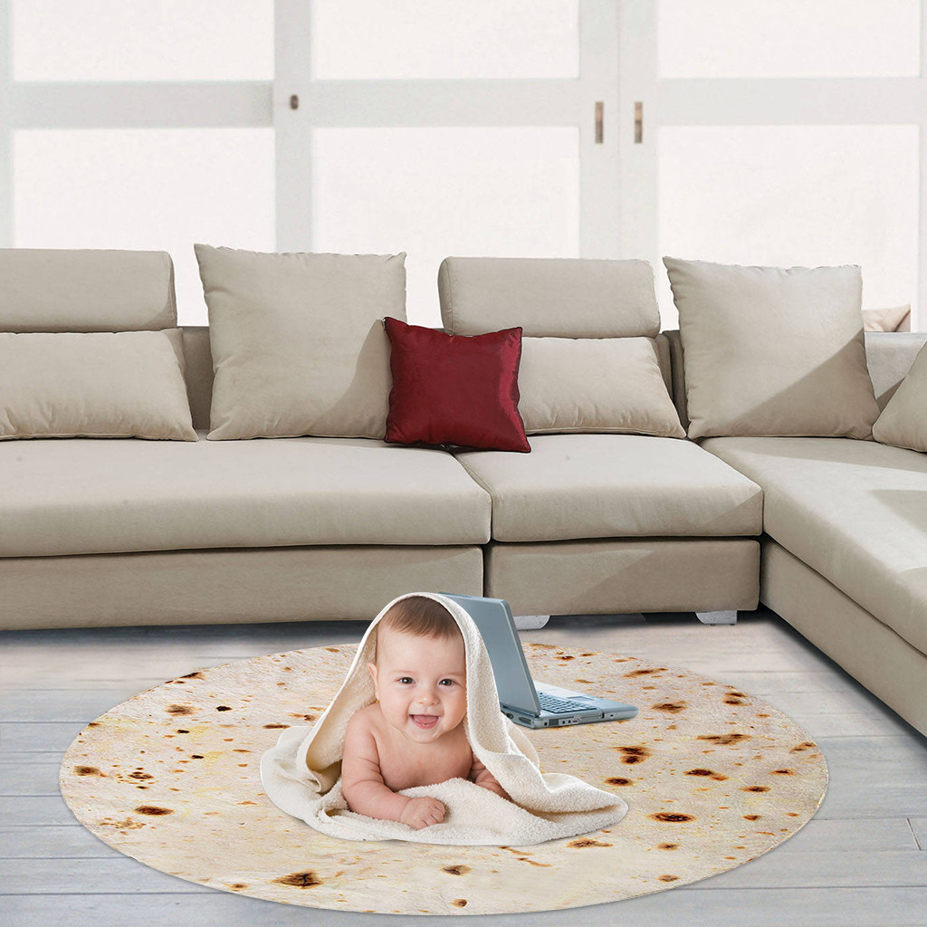 Одеяло Burito с тортилью, 38 #, комфортное одеяло для пищевых продуктов, идеально обернутое круглое одеяло Tortilla, покрывало для домашнего декора|Одеяла|   | АлиЭкспресс - Уютные осенние пледы