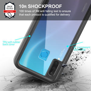 """Image 3 - Waterproof Case for Huawei Honor 20 Lite Russian Version 6.15"""" MAR LX1H Full Protection Swimming Diving Outdoor Shockproof Case"""
