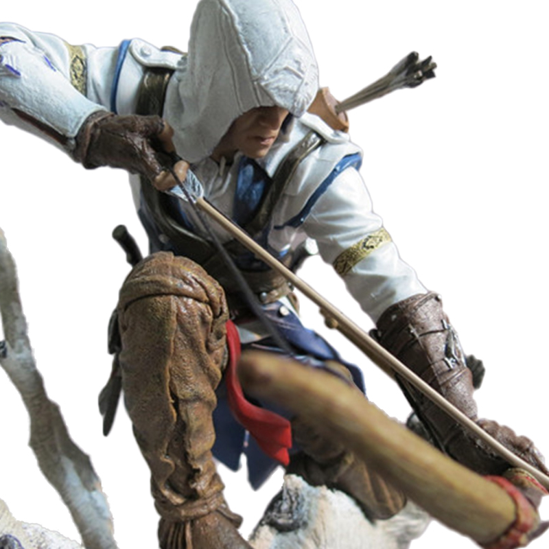 Assassin Is Creed Connor 26cm Pvc Movable Action Figure Figma Model Movie Anime Archetype Toy for children Gift Doll Collectible