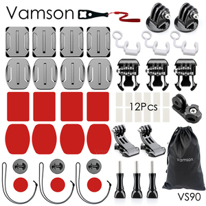 Image 1 - Vamson עבור ללכת פרו גיבור 7 6 5 אביזרי ערכת מעשי מתאם הר לdji אוסמו פעולה לxiaomi עבור SJCAM VS90
