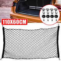 110x60cm Auto Styling Auto Cargo Net Nylon Elastische Mesh Gepäck Lagerung Net Für SUV Pickup Lkw