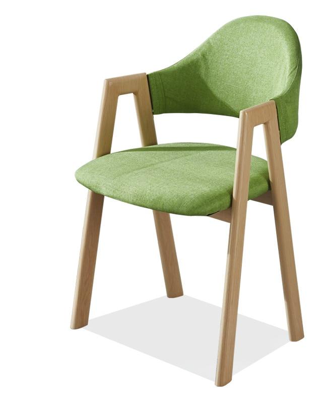 Modern Minimalist Home Dining Chair Wrought Iron Coffee Milk Tea Manicure Back   Stool Net Red Desk  Nordic
