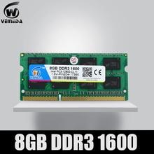 Laptop PC3-12800 Veineda-Ram Sodimm-Ram Ddr3 1333 1066mhz 1600 8GB 204pin for Intel AMD