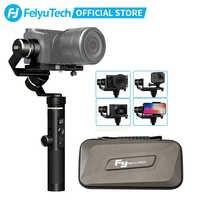 FeiyuTech G6 Plus 3 axes G6P stabilisateur de cardan de poche pour caméra sans miroir GoPro charge utile de téléphone intelligent 800g Feiyu G6P