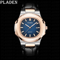 Relogio Masculino New Fashion Watch Men PLADEN Top AAA Sport Watches Mens Waterproof Quartz Clock Man Casual Business WristWatch