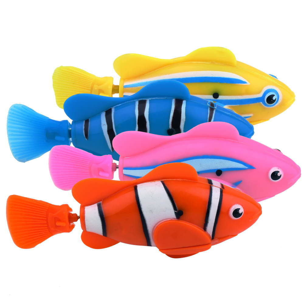 Newest Novel Robo Electric Toy Pet Fish With Aquatic Gift For Kids Children