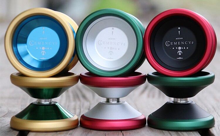 ACEYO CLEMENCY2 YOYO  7075 ring  competitive yo-yo for the professional yoyo player