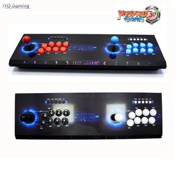 IYO Pandora Box 3D Plus WiFi Arcade Box 4018 168*3D Games Zero Delay 6/8 Buttons Joystick 2 Player Controller Arcade Console