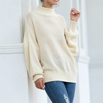 Women Sweater 2020 Autumn Winter Turtleneck Long Sleeve Female Basic Knitted Pullovers Thick Warm Solid Ladies Jumpers Clothing