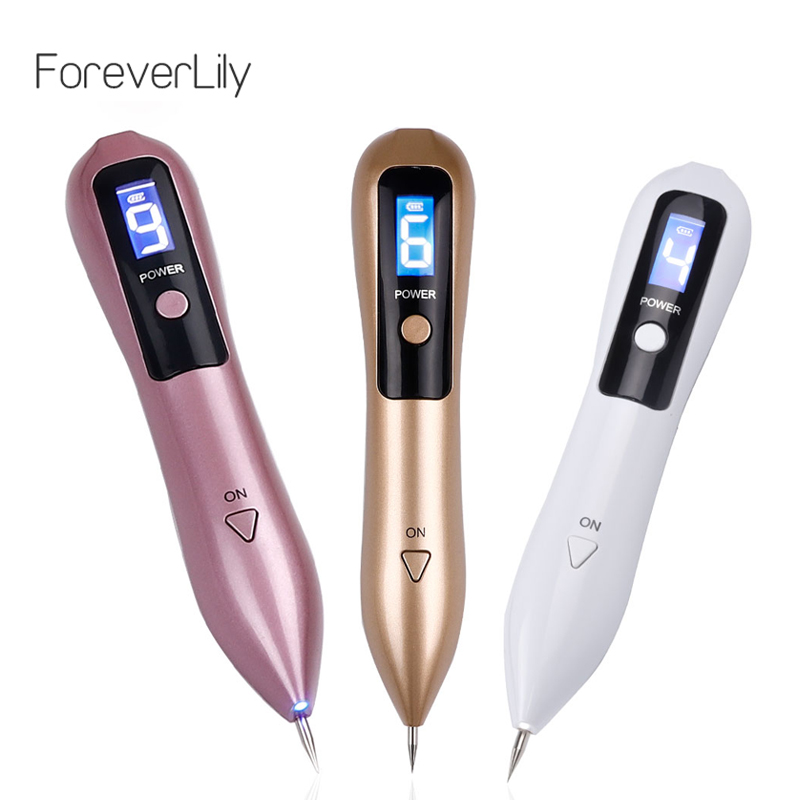 9 Level Laser Plasma Pen Mole Freckle Removal Dark Spot Remover LCD Skin Care Point Pen Skin Wart Tag Tattoo Cleaner