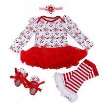 طفلة رومبير 0 2Y الخريف الشتاء الوليد ملابس الطفل للفتيات هدية الكريسماس الاطفال Bebe بذلة الطفل أطقم ملابس للفتيات الملابس