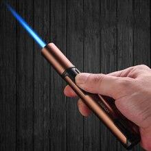 Честный Ручка спрей пистолет jet бутан факел зажигалка для свечей