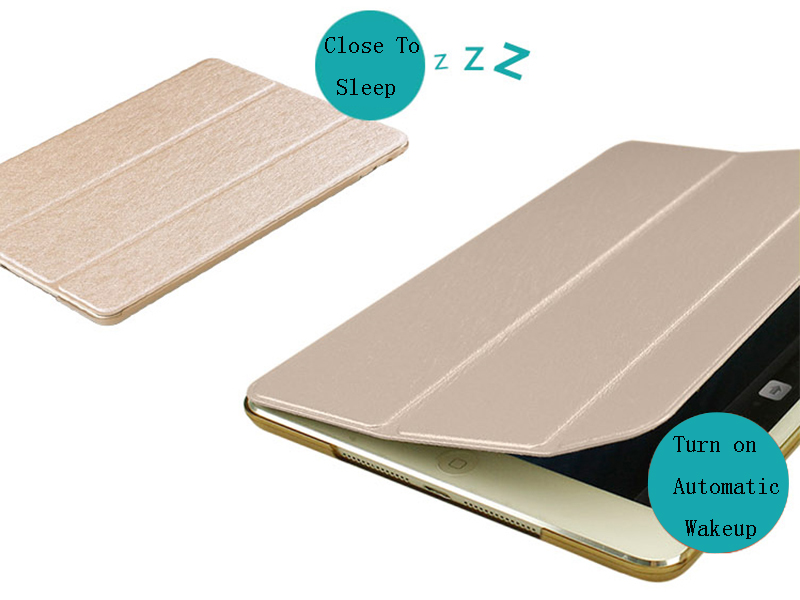 2020 For Cover For Smart Stand iPad Wake Case Apple PU 8 Leather Auto Trifold 10.2 inch