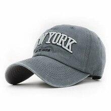 Doitbest washed 100% cotton baseball cap hat for women men v
