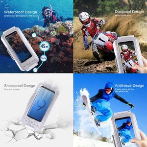 Image 4 - PULUZ 45 m/147ft Dưới Nước Chống Thấm Nước Hình Video Lấy Lặn Dành cho Galaxy, Xiaomi OTG Android Điện Thoại Thông Minh có Loại C