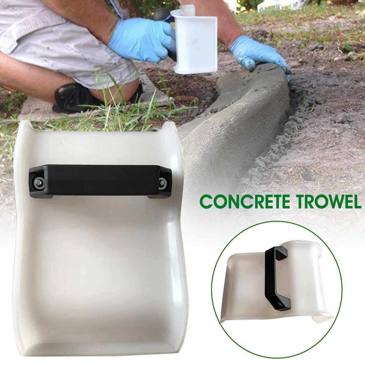 Garden DIY Cement Modeling Tool Trowel Plastic Soil Plaster Garden Concrete DIY Shape Fixing Clip Masonry Tools for Landscape Edging and Curbs