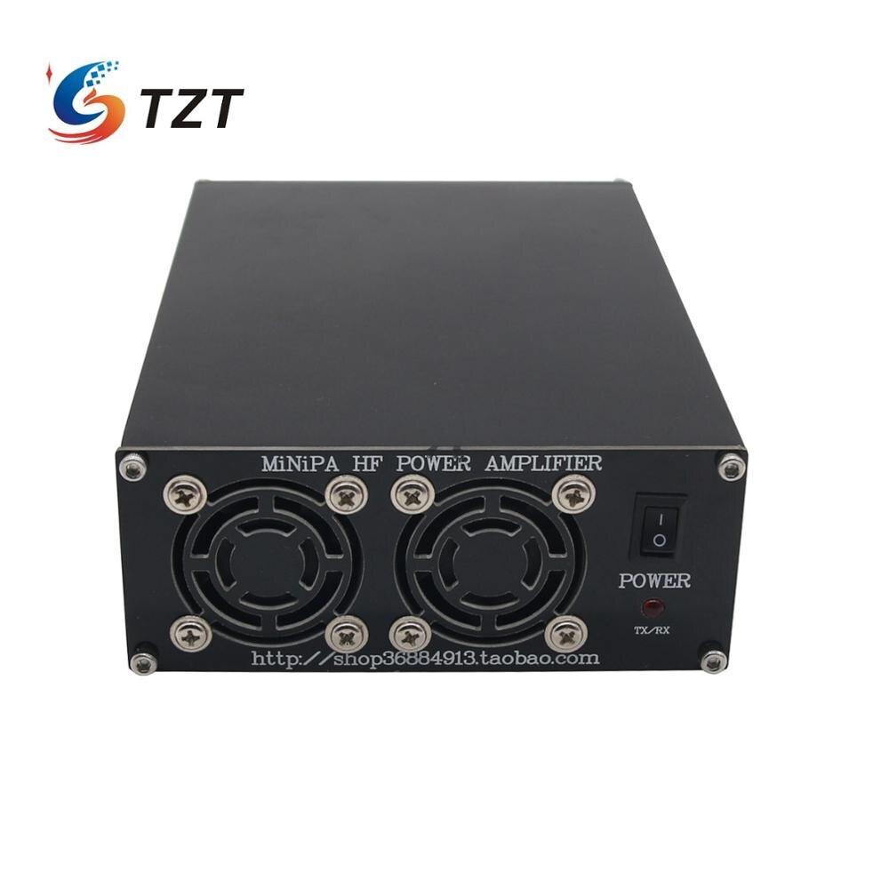 TZT MINIPA200 200W HF Power Verstärker Kurzwelligen Power Verstärker für Ham Radio FT-817 ICOM IC-703 Elecraft KX3 QRP PTT Control