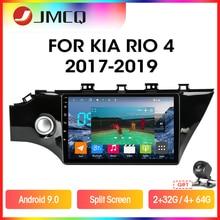 JMCQ אנדרואיד 9.0 עבור קאיה ריו 4 2016 2017 2018 2019 רכב רדיו Multimidia וידאו נגן 2 דין T3L T9 RDS GPS Navigaion פיצול מסך