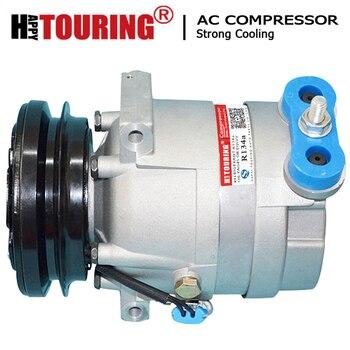 Compresor de CA para Daewoo Lanos 1998-2002, 700653, 700696, 700699, 96245940, 96245943, 96255980, 67210, 68210 V5