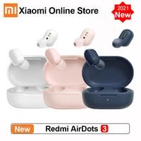 Xiaomi-auriculares inalámbricos Redmi AirDots 3, con Bluetooth 2021, aptX, estéreo, con micrófono, manos libres, novedad de 5,2
