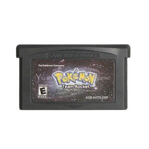 Image 1 - Na konsolę Nintendo GBA gra wideo karta konsoli Poke seria Team Rocket Jessie & James język hiszpański wersja amerykańska