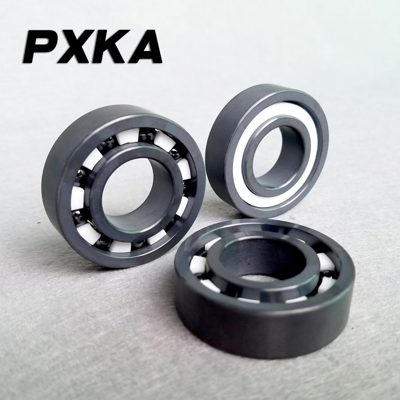 Free Shipping Factory Direct Silicon Nitride Full Ceramic Bearing 6200 6201 6202 6203 6204 6205 6206