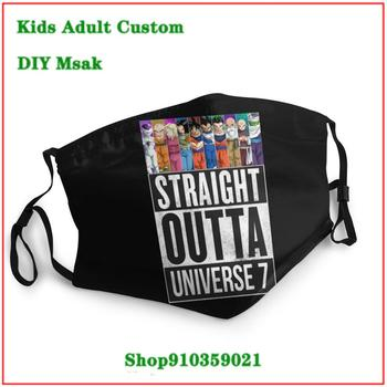 New Coming Vintage STRAIGHT OUTTA UNIVERSE mouth mask reusable kids mascarilla reutilizable Kids adult men women