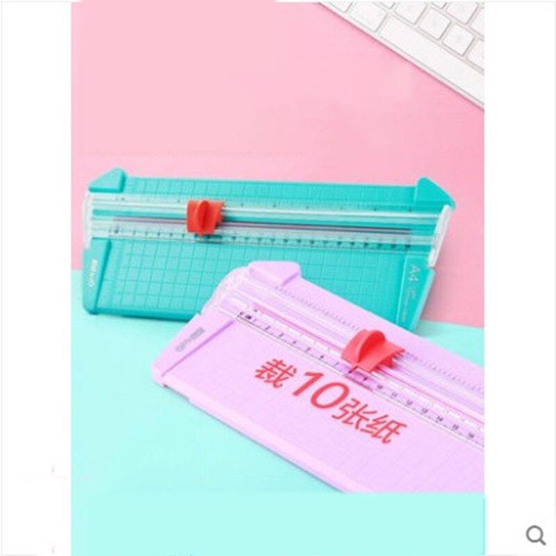 Small Paper Cutter 10 Pages Paper Cutter Paper Cutter Manual Precision Photo Paper Cutter Paper Cutter Die Cutter Scrapbook