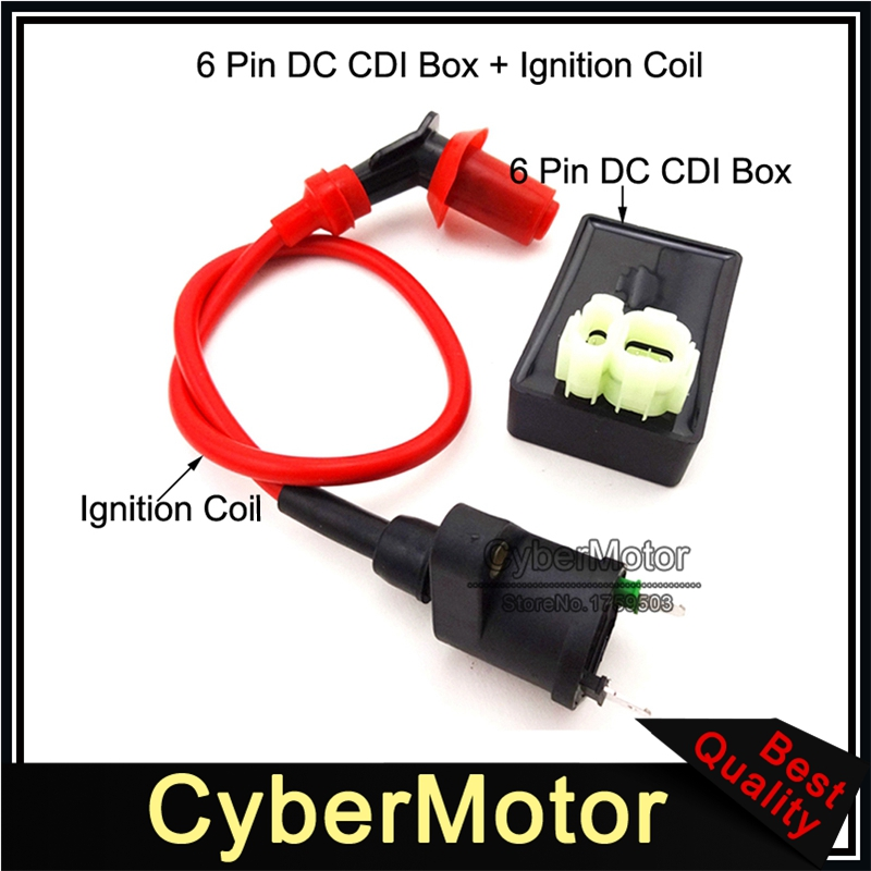 6-Pin DC-CDI for GY6 150cc Scooters