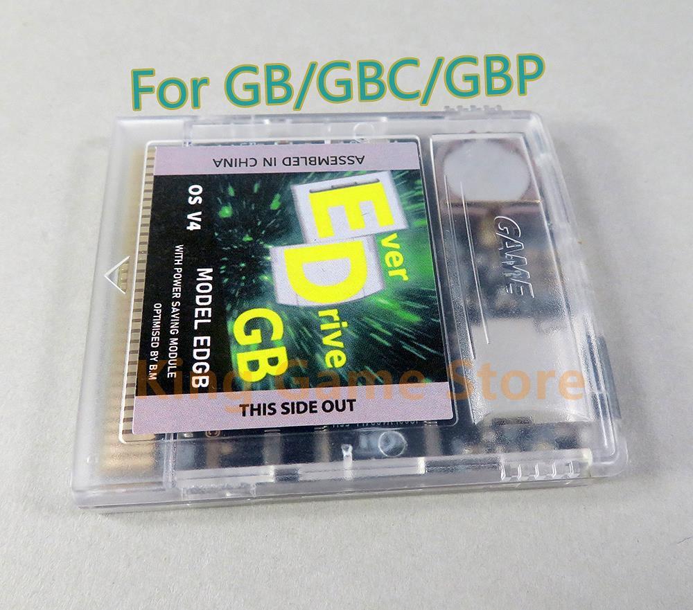 Juego de juegos para consola GB GBC, Cartucho de tarjeta Remix EDGB Remix, instalar 2700 juegos con tarjeta de memoria 4G, 1 Juego por lote