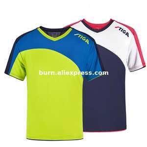 Новинка 2020, оригинальная стильная унисекс рубашка для настольного тенниса, чемпиона, быстросохнущая Спортивная рубашка с коротким рукавом