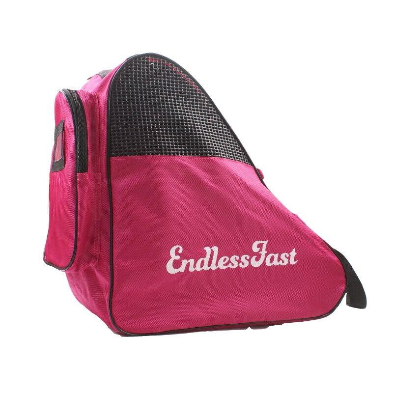 Professional Skate Bag Cute Backpack Increase Capacity Roller Figure Skating Storage Bag Shoulder For Children 38X21X37cm