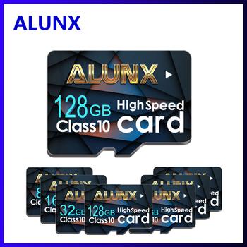 Pamięć Micro SD karty 8GB 16 GB 32 GB wysokiej prędkości 64GB klasa 10 do przechowywania karta Micro SD 128gb 256gb TF karty dla telefon Tablet PC tanie i dobre opinie ALUNX NB007-01 CN (pochodzenie) Tf micro sd card