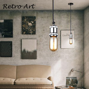 Image 4 - Simple Pendant Light Kit E27 Lamp Holder With Textile Cable Wire And Ceiling Rose lamp Cord Set