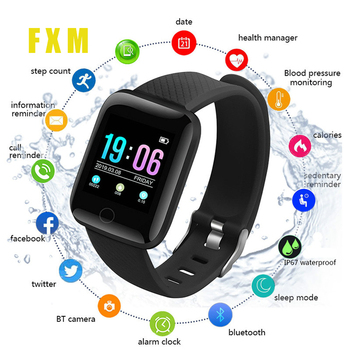 2020New Bluetooth Sport Pedometer Men Women Smart Watch Sleep Monitor Waterproof Smartwatch reloj Kids Boy Gift Watches relogio